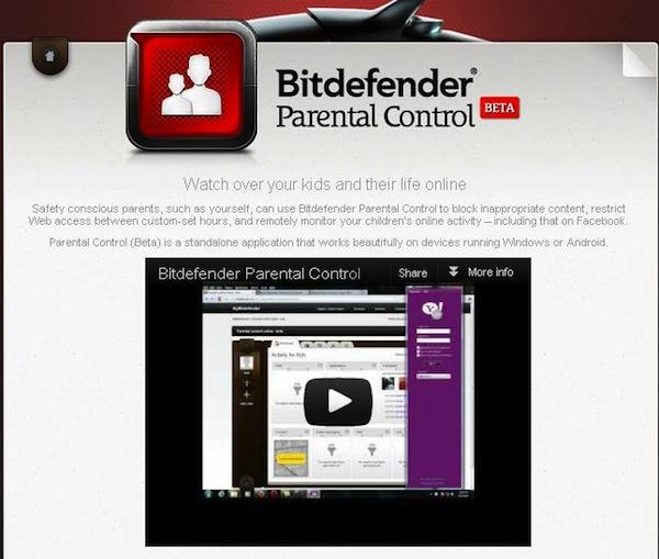 Bitdefender presenta la versión beta de su control parental - Bitdefender-Control-Parental