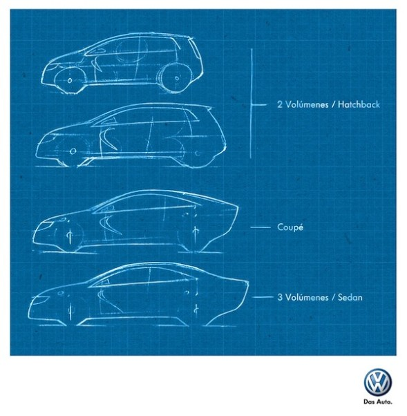 Diferencia entre un Auto Sedan, Coupé y Hatchback explicado por Wolkswagen