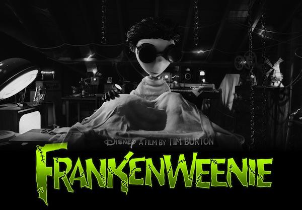 Segundo tráiler de Frankenweenie, la nueva película animada de Tim Burton