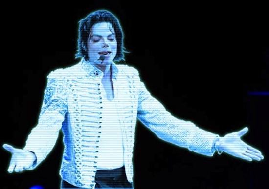 Michael Jackson inicia gira en forma de Holograma
