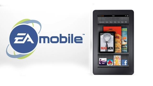 Kindle fire games eA EA Mobile lanza 8 juegos para el Kindle Fire