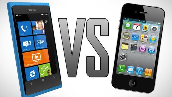 Comparación de precios de producción del Lumia 900 y el iPhone 4S [Infografía] - Lumia-VS-iphone4s
