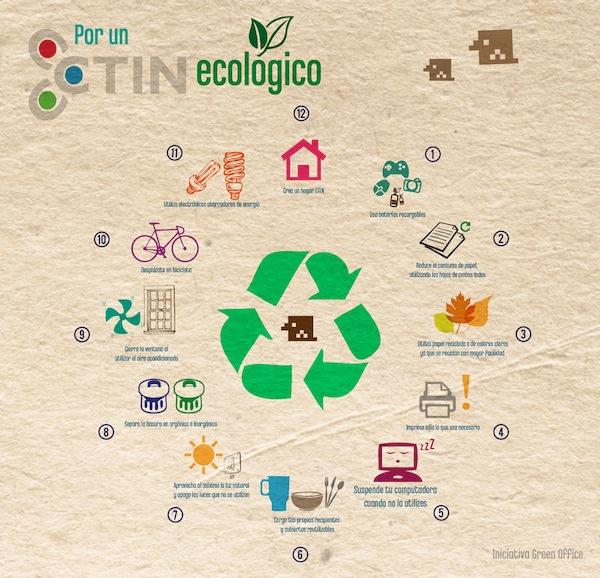 Consejos para tener una oficina más ecológica [Infografía]