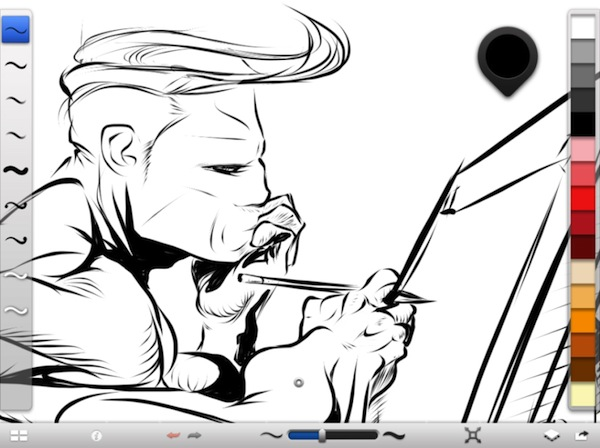 Autodesk lanza SketchBook Ink para iPad - Sketchbook-ink
