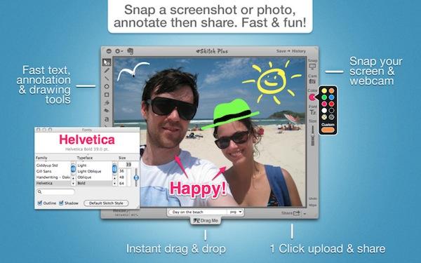 Skitch, una magnífica aplicación para capturar pantalla en Mac - Skitch-mac-app