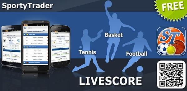 Revisar resultados de tus deportes favoritos con SportyTrader - Sporty-trader-app