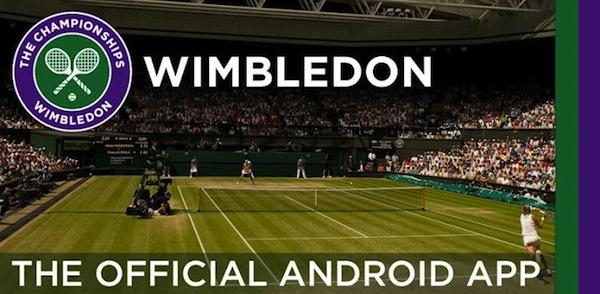 Sigue en vivo Wimbledon desde tu iPhone y Android - Wimbledon-app