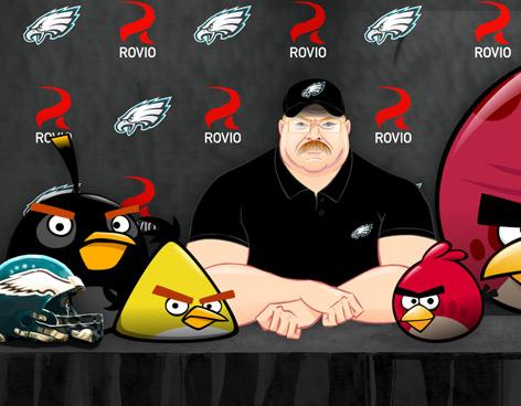 angry birds NFL Angry Birds y las Águilas de Filadelfia se unen para una nueva versión del juego