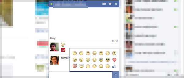 Facebook añade botón de emoticonos a su chat - chat-facebook-emoticons