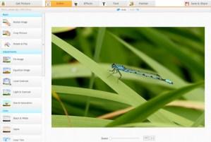 Editar fotos online en iPiccy