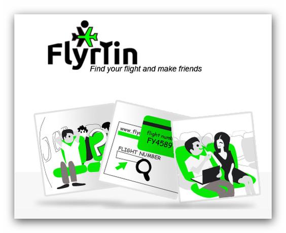 Flyrtin, el servicio web que te ayuda a conocer a tus compañeros de viaje ahora en español