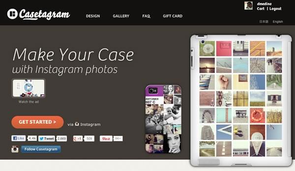 Fundas para iPhone / iPad con fotos de Instagram, Casetagram - fundas-iphone-instagram