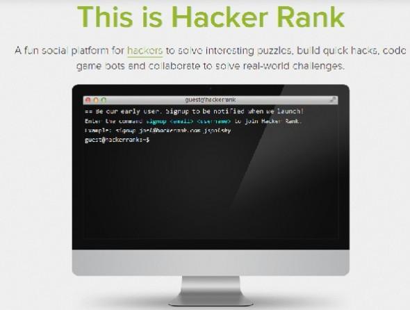 hacker rank 590x446 Hacker Rank, ¿quién dijo que los hackers no podían socializar?