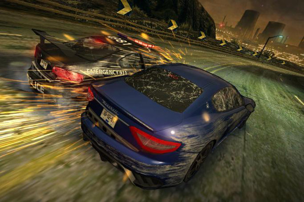 Electronic Arts presenta Need For Speed Most Wanted Mobile - nfs-mw