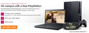 Sony regala un PS3 o PS Vita en la compra de una Vaio