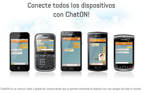 samsung chaton Geniales alternativas a Whatsapp