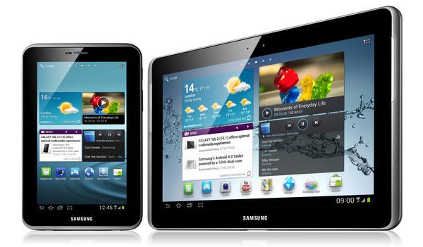 samsung galaxy tab Samsung introduce en México su línea GALAXY Tab 2 en tamaños de 7 y 10.1 pulgadas