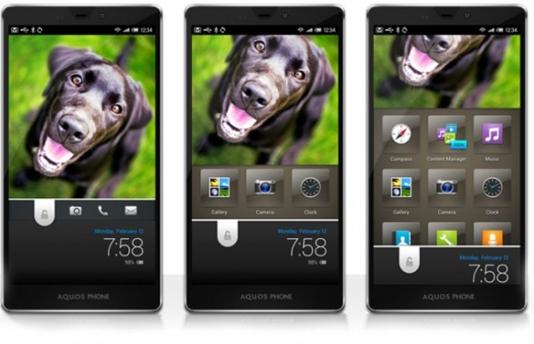 Sharp muestra su espectacular interfaz Feel UX para Android - sharp-feel-ux-590x380