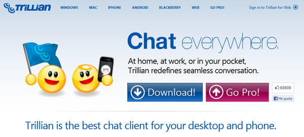 Entrar al Messenger con Trillian, alternativa al Live Messenger de Windows - trillian
