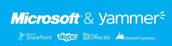 yammer y microsoft 590x160 Yammer es adquirido por Microsoft