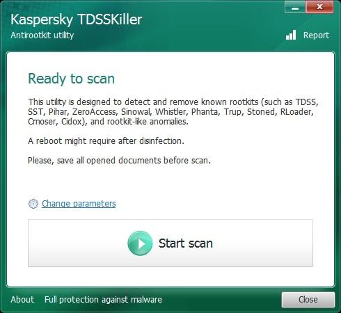 Anti rootkit utility TDSSKiller Como eliminar el troyano DNS Changer en una Mac y Pc