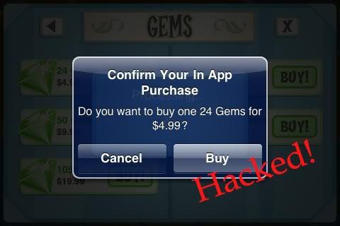 App store in app purchases hacked Las compras dentro de la aplicación en la App Store han sido hackeadas