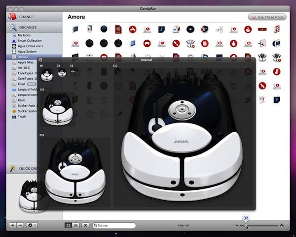 Cambiar iconos en Mac con CandyBar