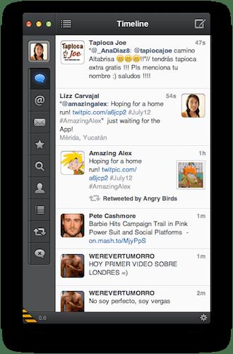 Captura de pantalla 2012 07 11 a las 17.39.35 TweetBot para Mac, la experiencia del mejor cliente de Twitter para iOS ahora en tu Mac [Reseña]