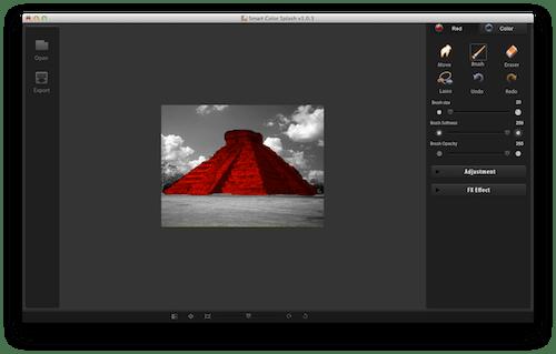 Captura de pantalla 2012 07 17 a las 18.44.50 Color Splash Smart, increíble y sencilla aplicación para agregar efectos a tus fotos en Mac