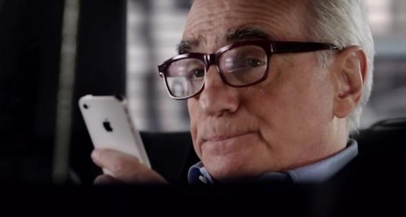 Apple presenta un nuevo anuncio de Siri con Martin Scorsese como protagonista - Comercial-Siri-martin-Scorsese-590x316