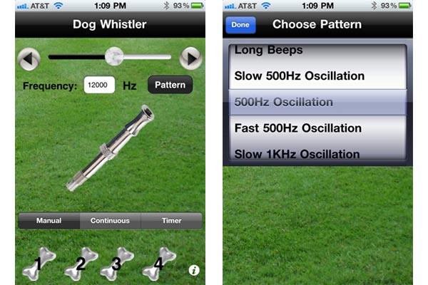 Dog Whistler, silbato para perro desde tu teléfono - Dog-whistler-ios-android