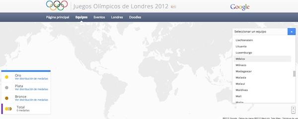 Juegos Olimpicos londres 2012 en directo google 2 Sigue en directo los Juegos Olímpicos Londres 2012 desde Google