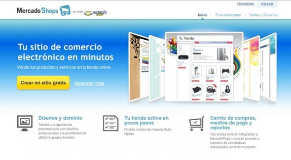 MercadoShops 590x326 MercadoLibre lanza MercadoShops para crear tiendas electrónicas en minutos