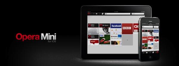 Opera Mini para iOS se actualiza y añade la integración con Twitter - Opera-Mini-ios