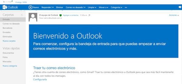 Hotmail se transforma en Outlook - Outlook