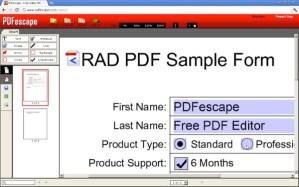 Editar PDF en Chrome con PDFescape
