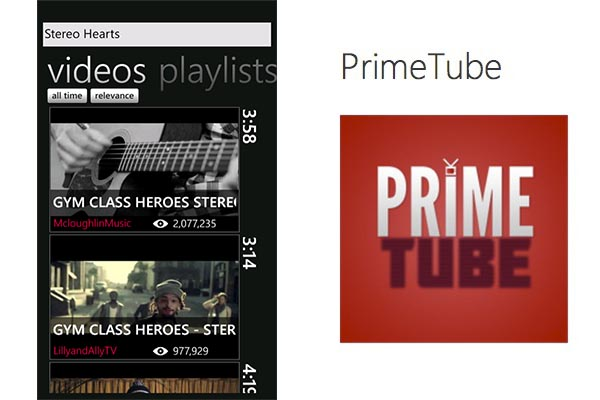 PrimeTube Windows Phone PrimeTube, un excelente cliente de Youtube para Windows Phone