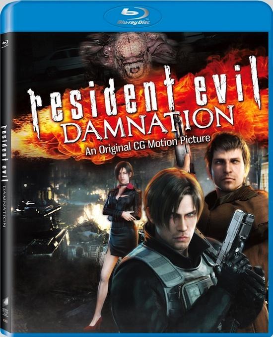 Resident Evil: Damnation saldrá a la venta el 25 de septiembre - Resident-evil-damnation-blueray-dvd