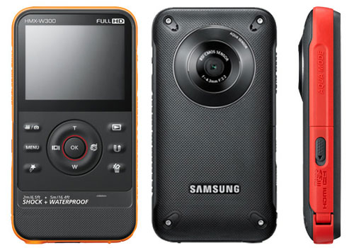 Samsung presenta su nueva videocámara deportiva W350 - Samsung_HMX_W350