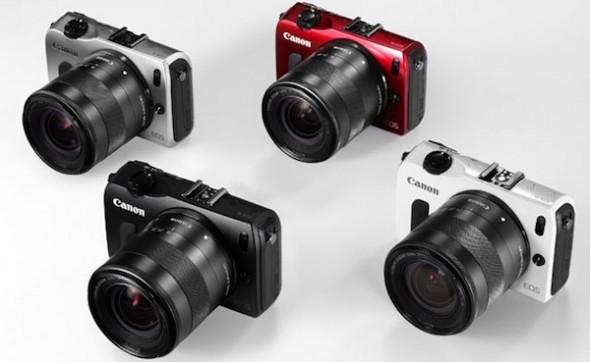EOS M, la nueva cámara digital sin espejo (Mirrorless) de Canon