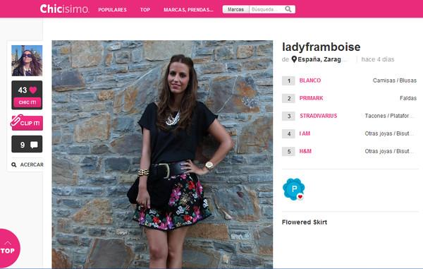 Chicismo, el Pinterest de la moda - chicismo
