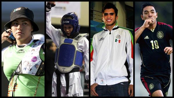 mexicanos juegos olimpicos Calendario de la participación de mexicanos en Londres 2012