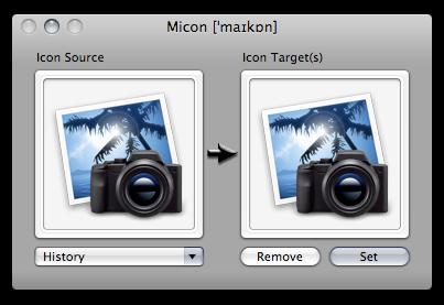 Cambiar iconos en Mac con Micon - micon