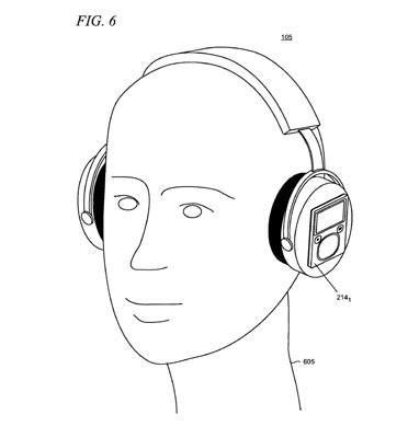 microsoft.audifonos Microsoft patenta un diseño de auriculares con accesorios ensamblables