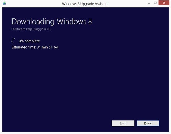 windows 8 upgrade La actualización a Windows 8 Pro tendrá un costo de 39.99 dólares