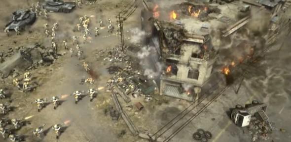 Command Conquer free 590x289 Juego gratuito de Command & Conquer es anunciado por EA