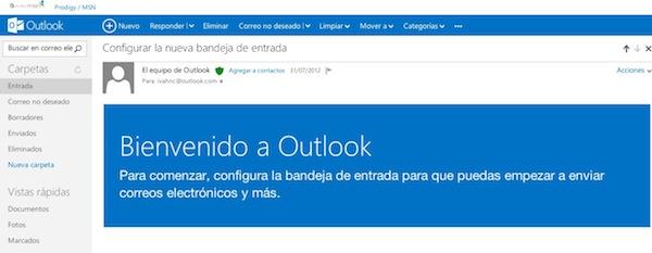 Cómo crear un correo en Outlook - Crear-correo-obtlook-3