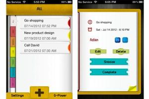 Recuerda tus pendientes con E-Reminder para iPhone