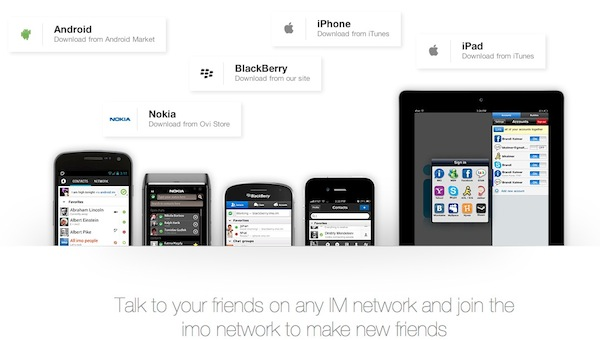 Imo im llamadas voz Imo para iOS añade servicio de llamadas de voz