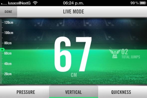 Nike+ Hyperdunk, los zapatos deportivos llenos de tecnología [Reseña] - Nike-Training-Live-Mode-590x393